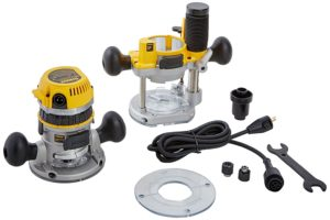 Multi-Base Wood Router vs Plunge and Fixed Base Variable Speed Wood Router