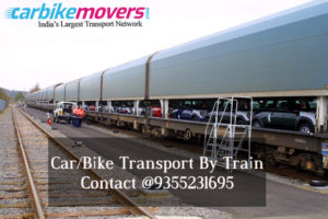 Car & Bike Transport By Train in India